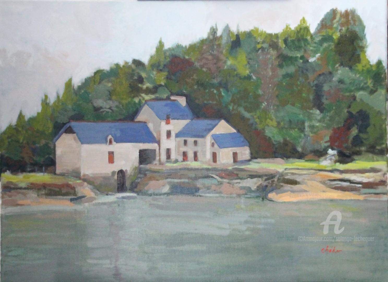 Chéker - Moulin à marée sur la Rance, Moulin du Prat