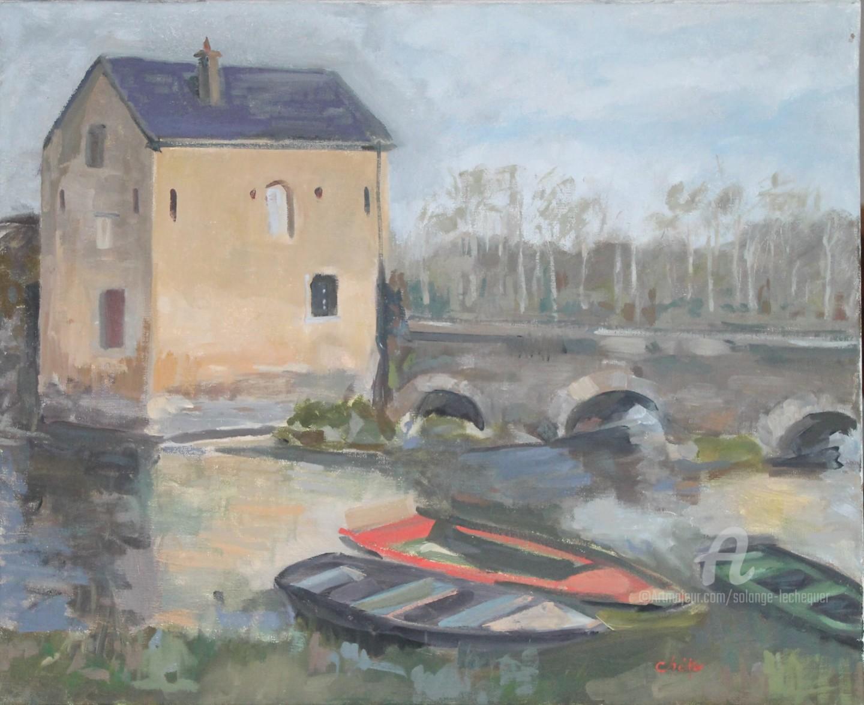Chéker - Moulin sur le Loir à Durtal