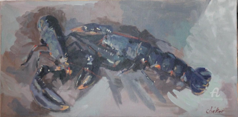 Chéker - Les deux homards bleus