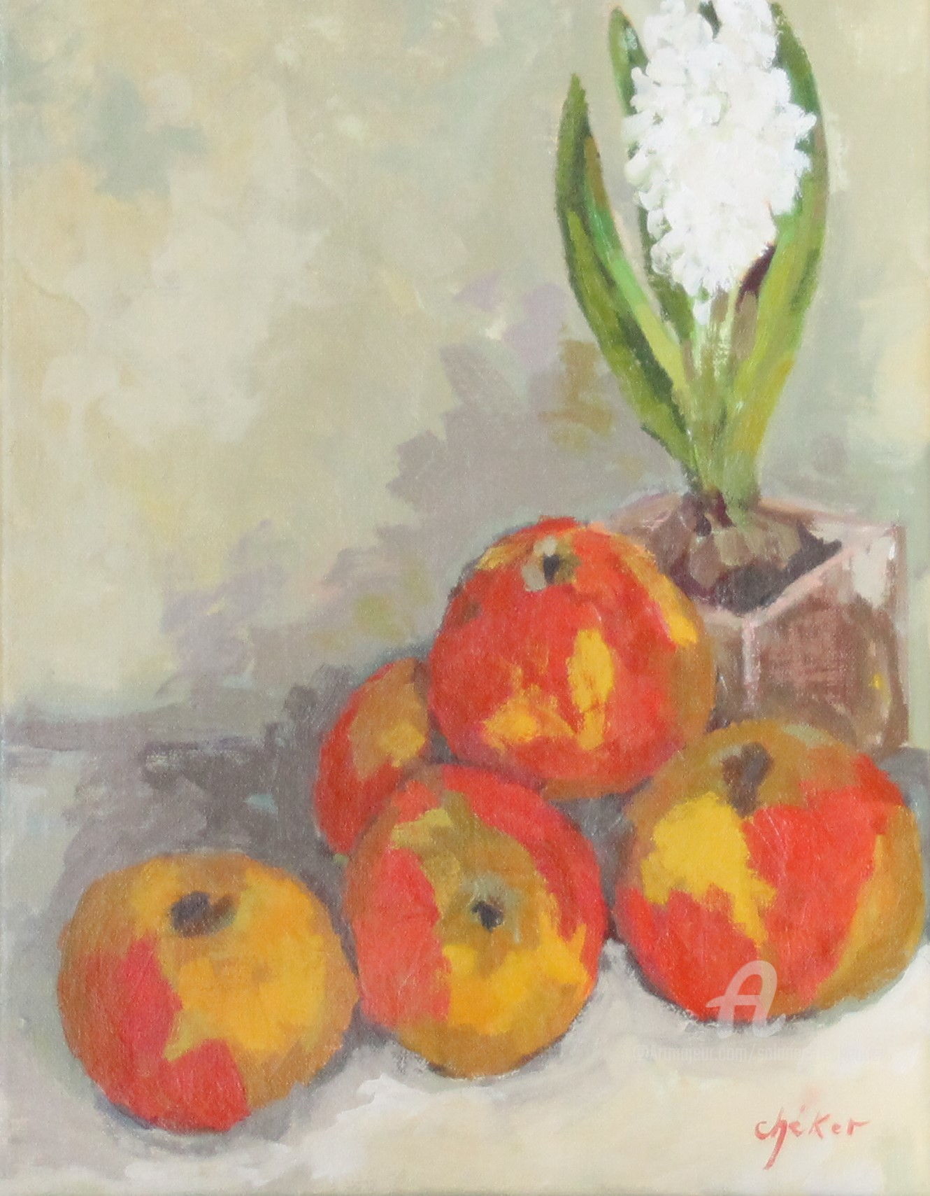 Chéker - Jacinthe et pommes