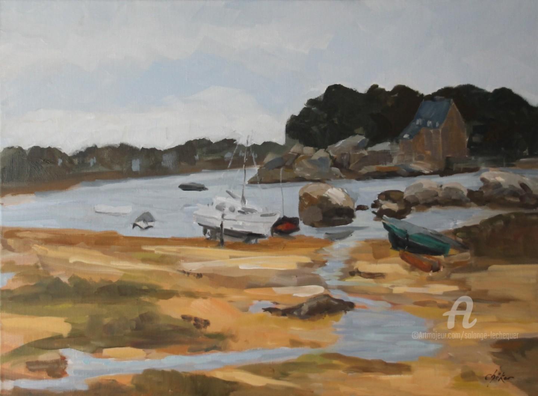 Chéker - Mouillage à l'Ile Renote - Trégastel