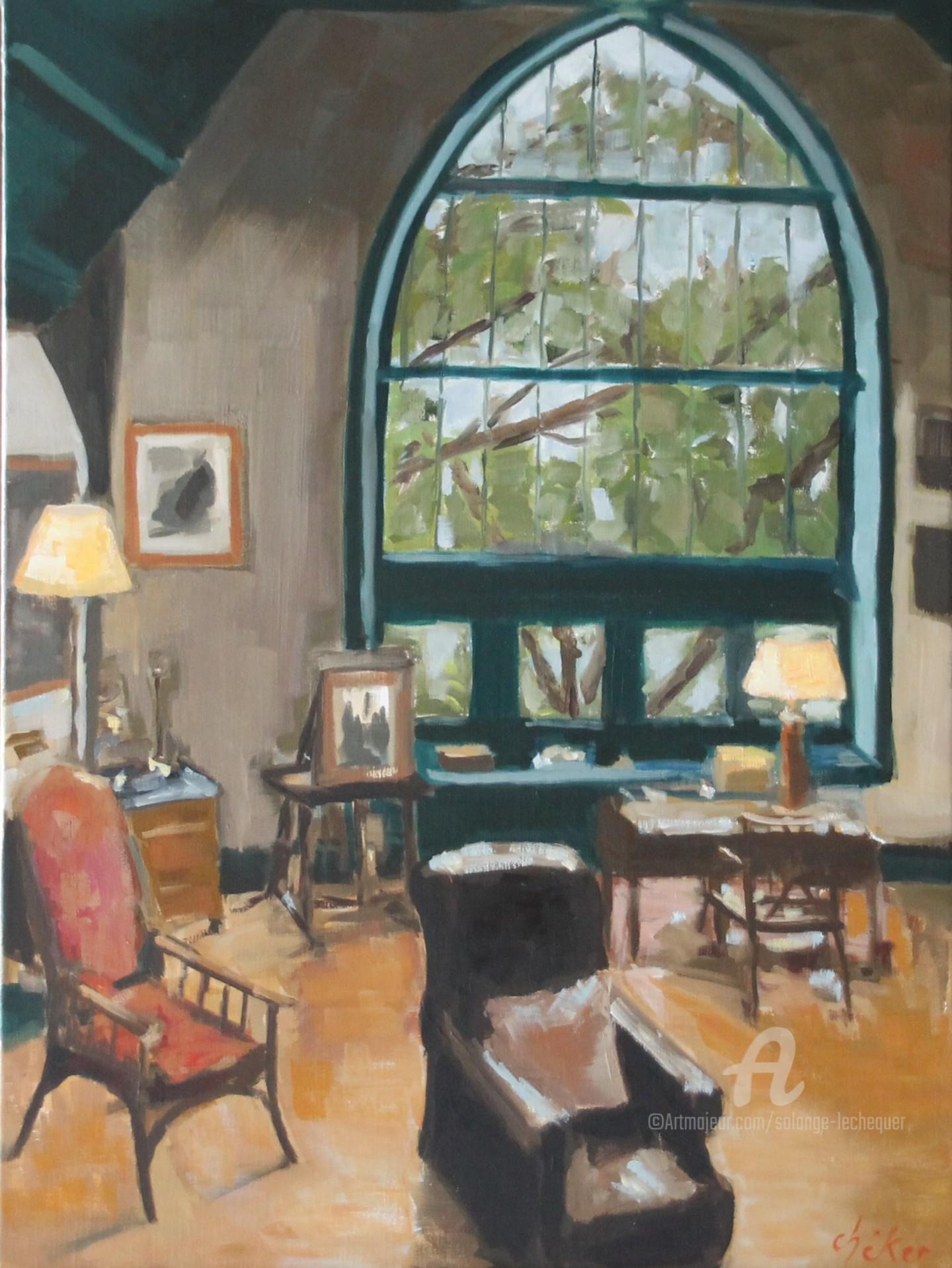 Chéker - Villa Rochefontaine à Ploumanac'h l'Atelier du peintre.