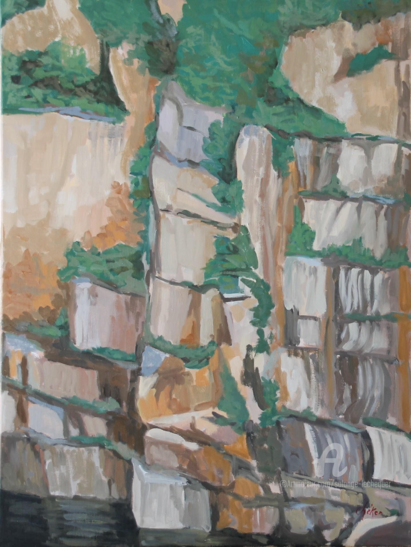Chéker - Les carrières de Granit Rose - N°1- Carrières Rebillon