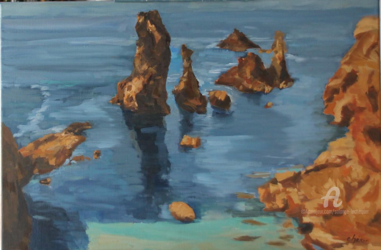 Chéker - Rochers à Belle Isle en Mer, Port-Coton
