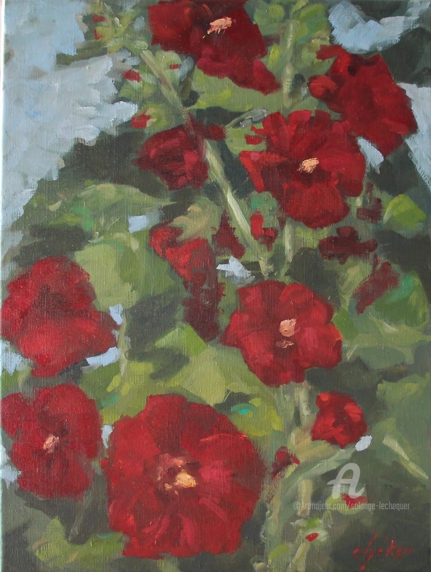 Chéker - Les Roses Trémières du Jardin