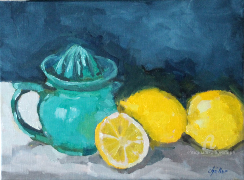 Chéker - Le Presse-citron Turquoise