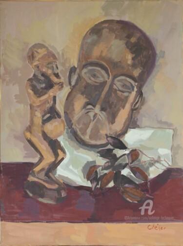 Masque et statuette-art-africain