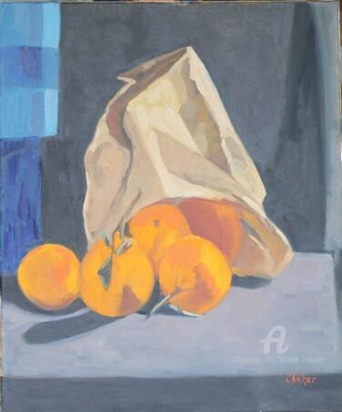 Sac d'oranges renversées