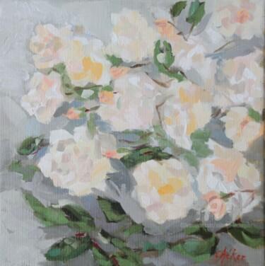 Les Roses abricot Ghislaine de Féligonde