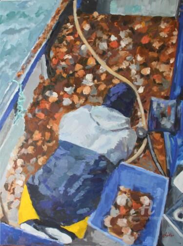 Le Tri des Coquilles Saint-Jacques à bord du Chalutier