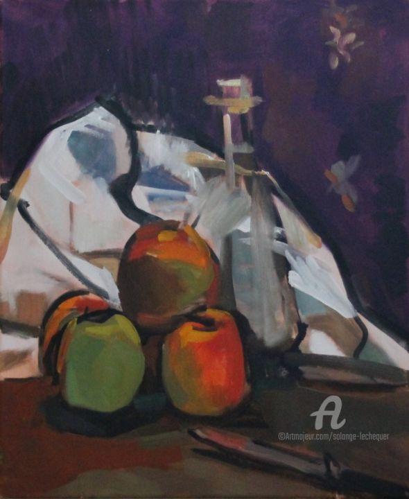 CHéKER - Pommes, carafe et torchon